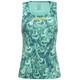 GORE RUNNING WEAR AIR PRINT Hardloopshirt zonder mouwen Dames turquoise